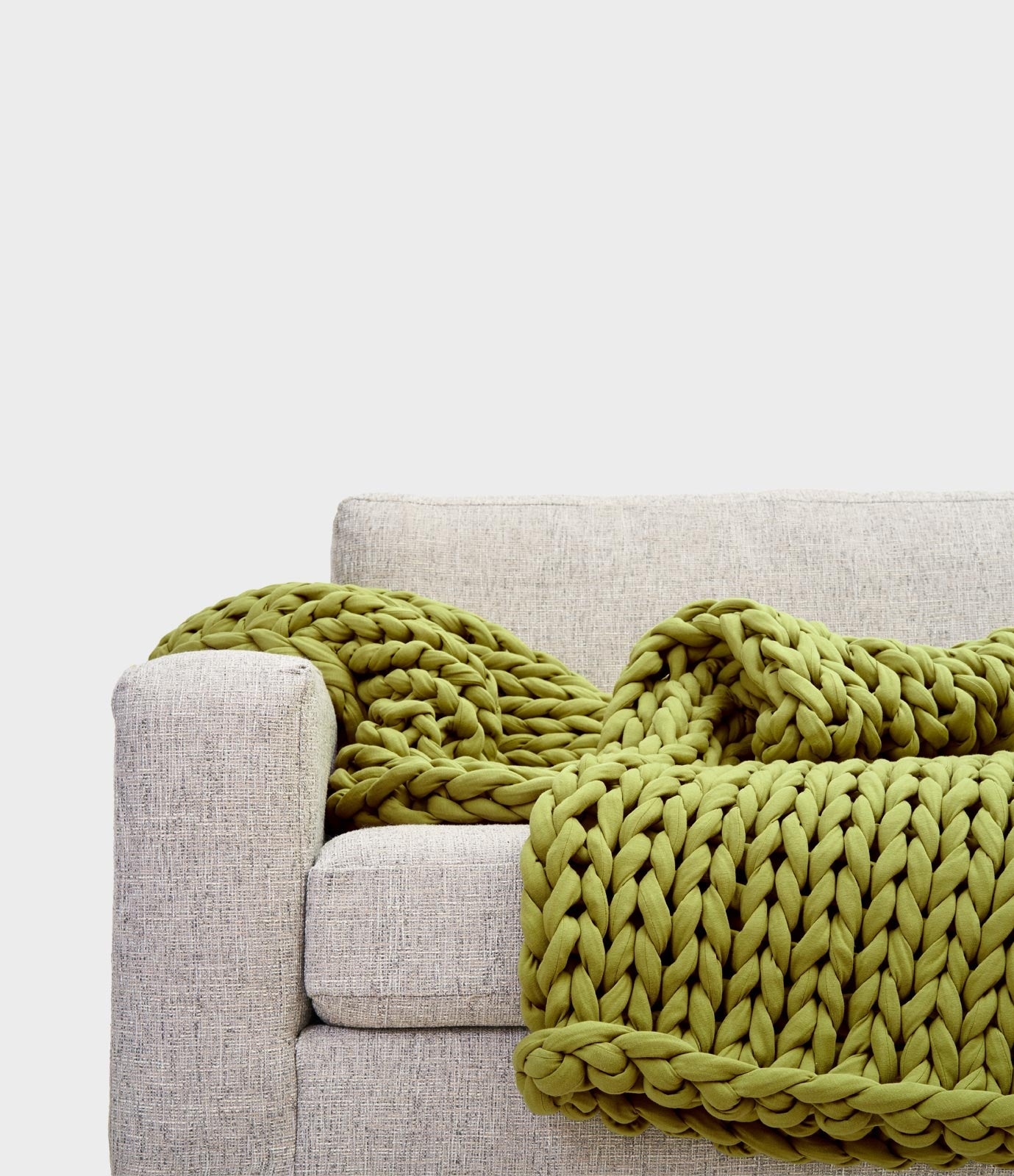 Tree Napper - Avocado Color (#1 Weighted Blanket)