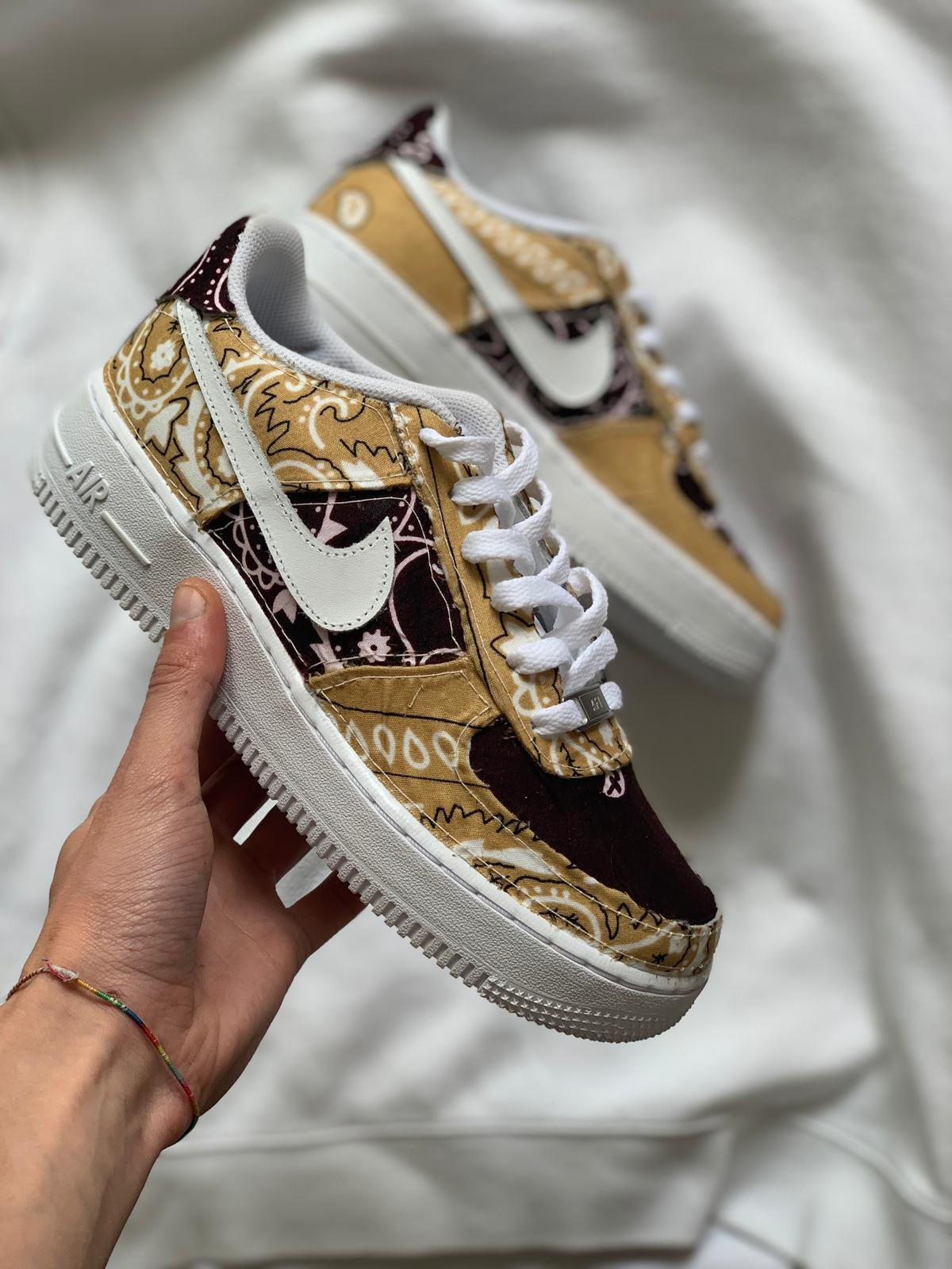"Air Force 1 ""Brown Bandana"""