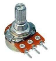 Potentiometer linear 250K