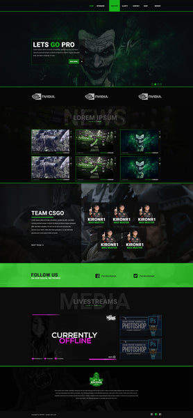 Joker eSport Design