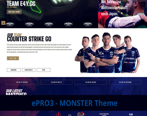 ePRO3 - Monster Theme