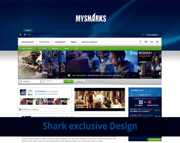 Shark eSport Design