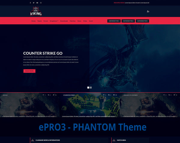 ePRO3 - Phantom Theme