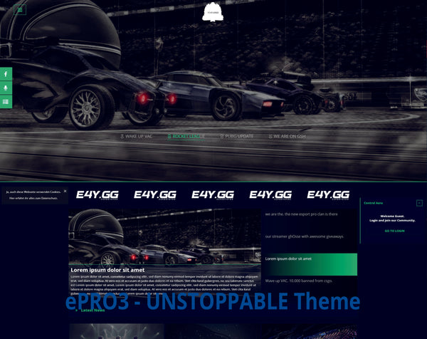 ePRO3 - Unstoppable Theme