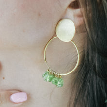 Load image into Gallery viewer, Peridots Earrings