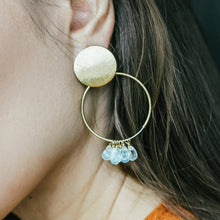 Load image into Gallery viewer, Aquamarine Earrings | Jomaro
