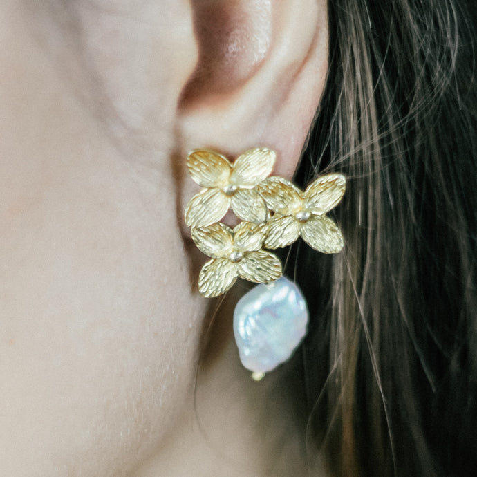 Gold Plated Silver Earrings | Jomaro