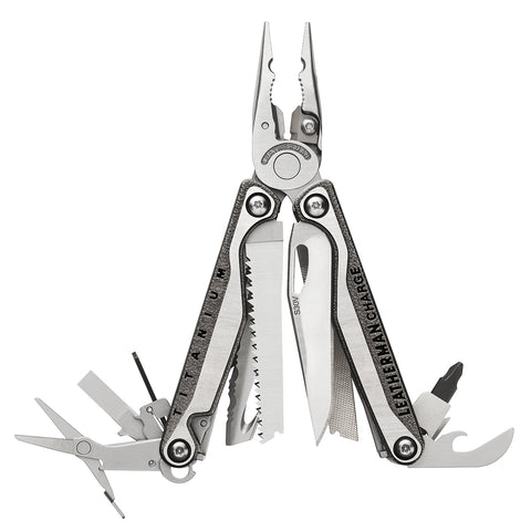 The Leatherman Charge TTi+ is a strong yet not overly heavy, fully-featured multi-tool of the highest quality.