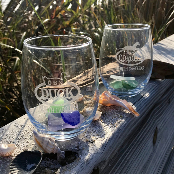 OUTER BANKS STEMLESS WINE GLASS