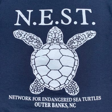 ADULT LONG SLEEVE TEE TO BENEFIT N.E.S.T.