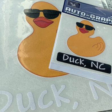 RUBBER DUCKY DECAL by AUTO-GRAPHS