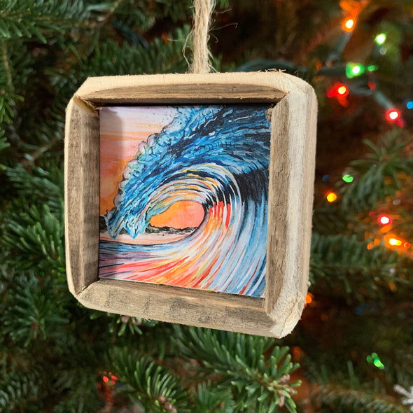 HAND-CRAFTED OBX ORNAMENTS | COASTAL ART BY BRENT