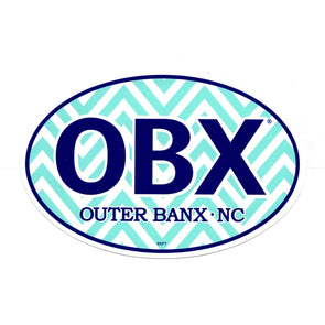 OBX CHEVRON STICKER