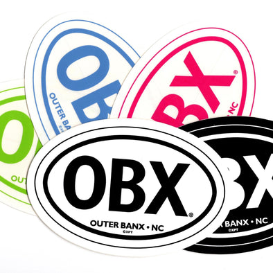 THE ICONIC OBX STICKER