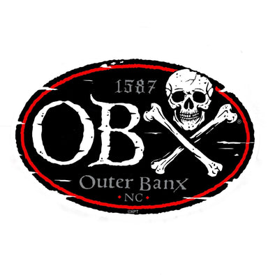 OBX PIRATE STICKER