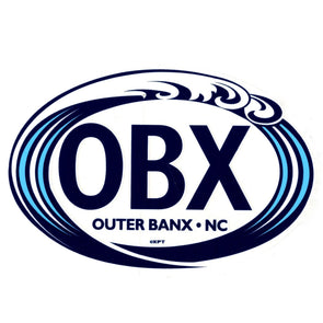THE ICONIC OBX STICKER WAVE