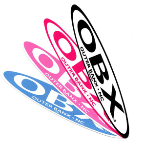 THE ICONIC OBX STRETCH STICKER