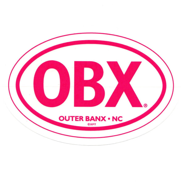 THE ICONIC OBX STICKER PINK