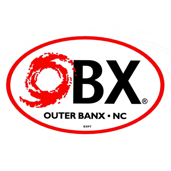 THE ICONIC OBX STICKER HURRICANE
