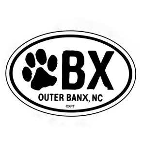 THE ICONIC OBX MAGNET SALTY PAWS