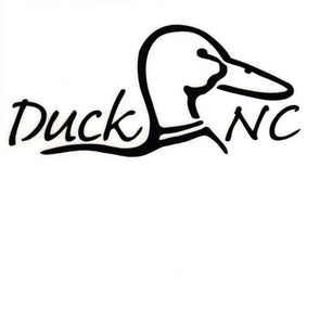 DUCK NC STICKER DECAL