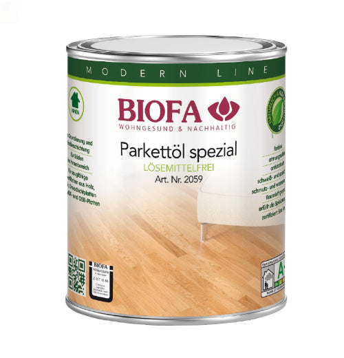 Parquet Oil Natural Chemical Free VOC Free Non-Toxic Organic