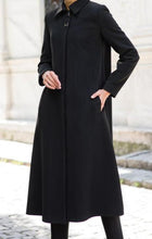 Load image into Gallery viewer, Manteau femme hiver / Manteau femme noir / zara / modanisa / Manteau cachemire / manteau 3/4