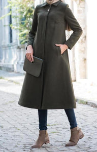 Winter long coat