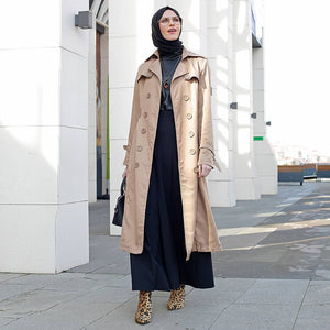 Minc - Fully Lined - Point Collar - Trench Coat