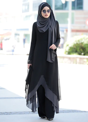 Black - Unlined - Suit Spring dress