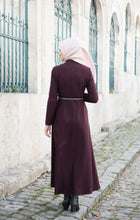 Load image into Gallery viewer, Long abaya embroidered belt