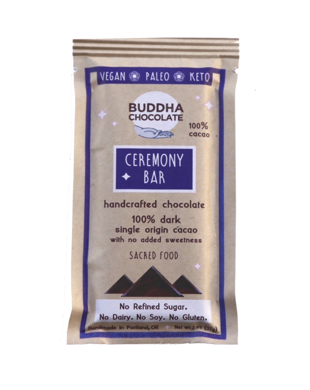 ceremony bar / 100% cacao