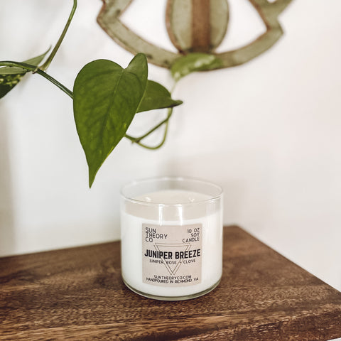 Juniper Breeze 10oz Soy Candle