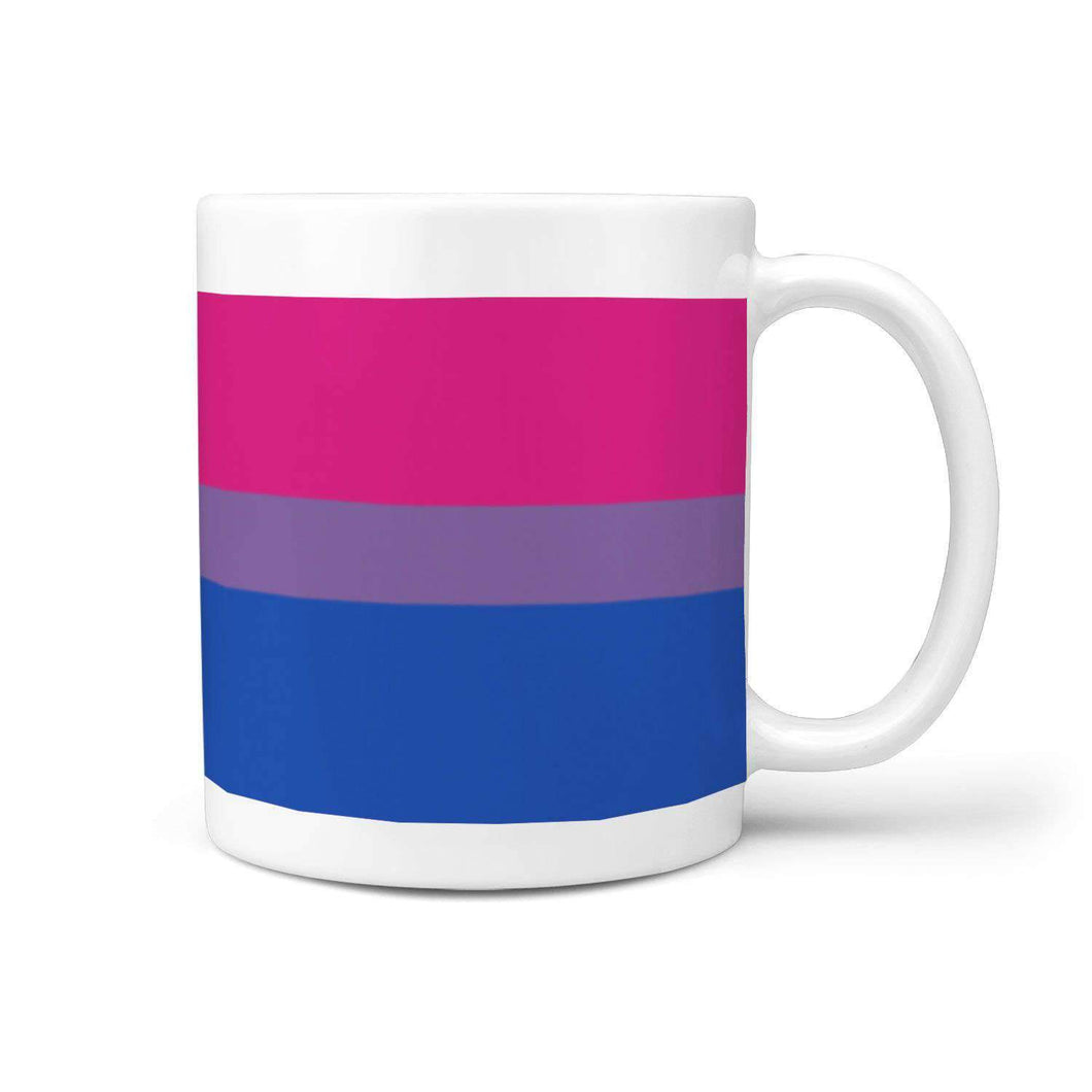 360 White Mug - Bisexual Pride - Coffee Mug