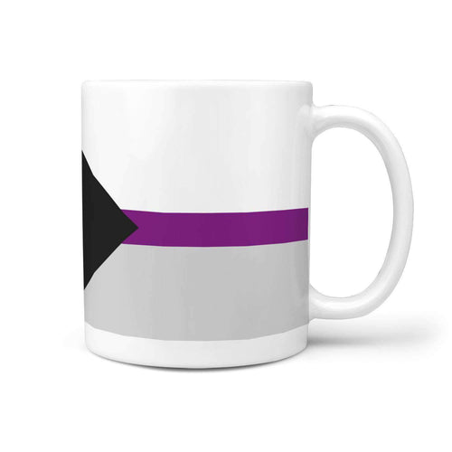 360 White Mug - Demisexual Pride - Coffee Mug