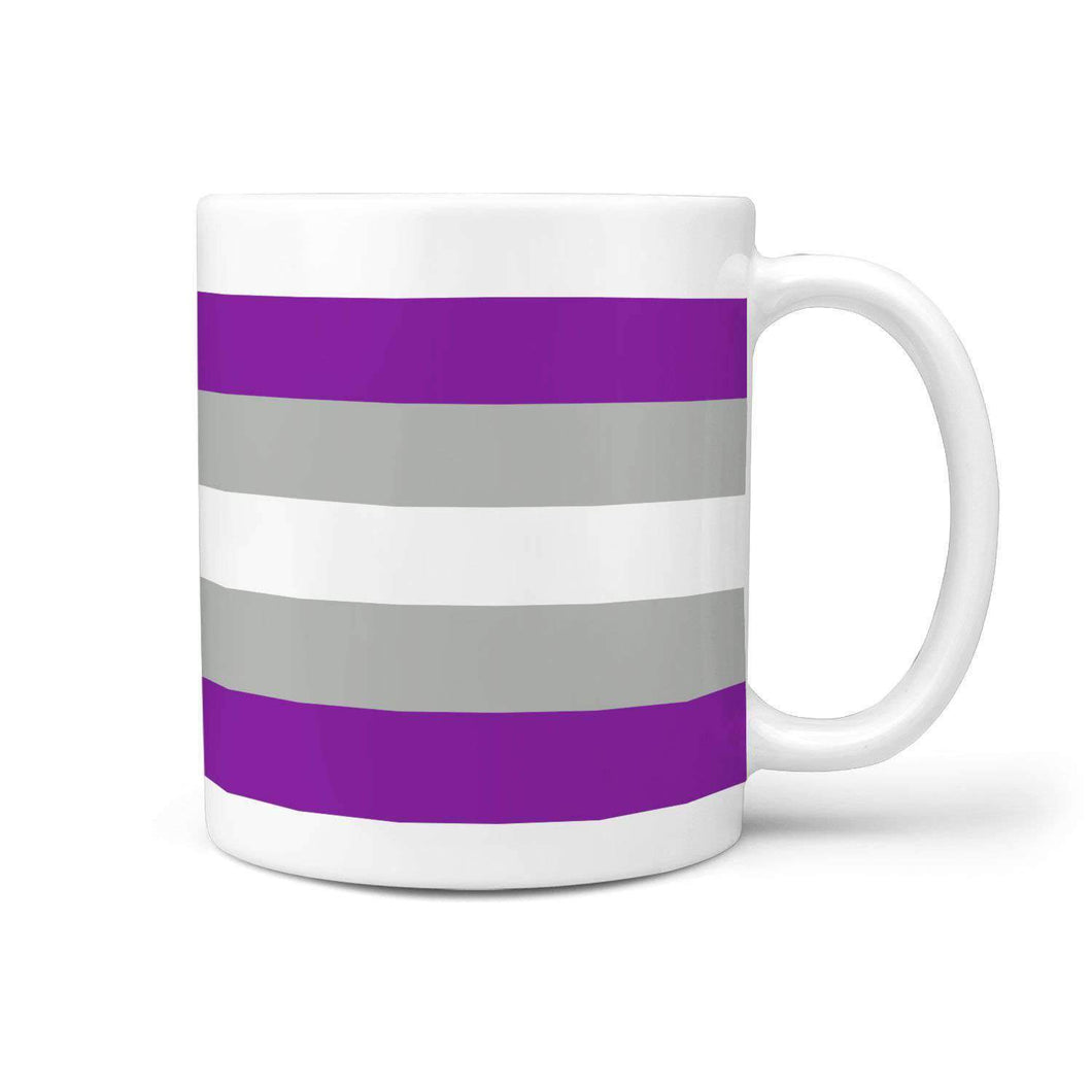 360 White Mug - Graysexual Pride - Coffee Mug