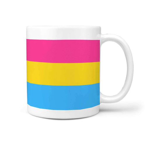360 White Mug - Pansexual Pride - Coffee Mug