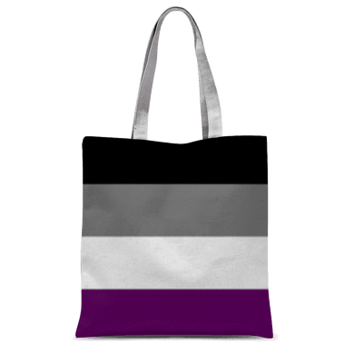 PrideAllYear.com|Ace Pride ufeffClassic Sublimation Tote Bag