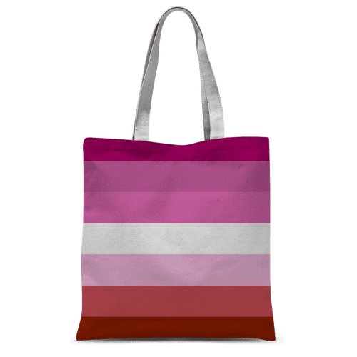 Accessories - Lesbian Pride Classic Sublimation Tote Bag