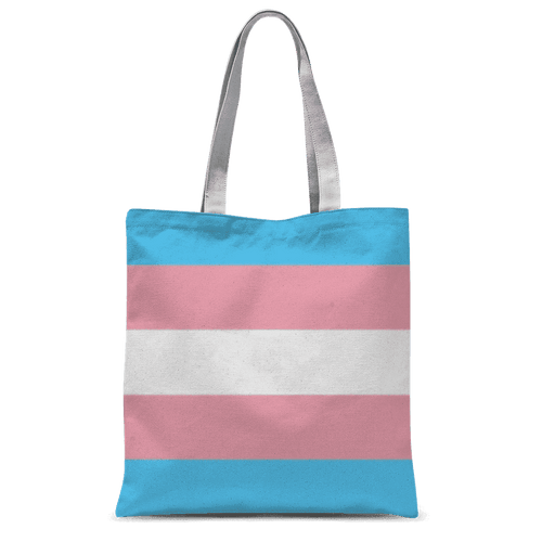 Accessories - Trans Pride Classic Sublimation Tote Bag