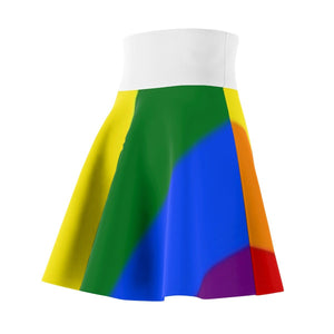 All Over Prints - Rainbow Pride - Skater Skirt