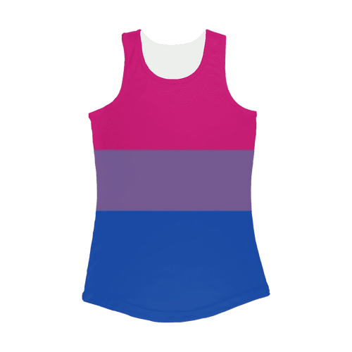 Apparel - Bi Pride Women Performance Tank Top