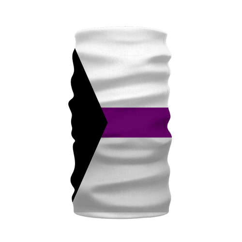 Apparel - Demisexual Pride Neck Warmer Morf Scarf
