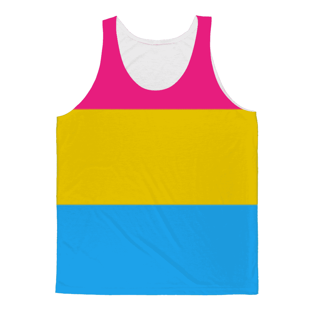PrideAllYear.com|Pan Pride ufeffClassic Sublimation Adult Tank Top