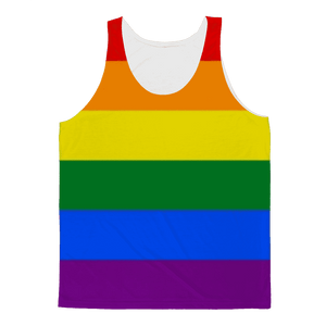 Apparel - Rainbow Pride Classic Sublimation Adult Tank Top