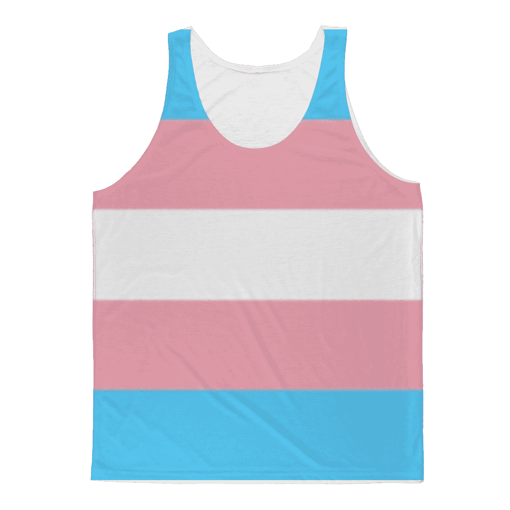 Apparel - Trans Pride Classic Sublimation Adult Tank Top