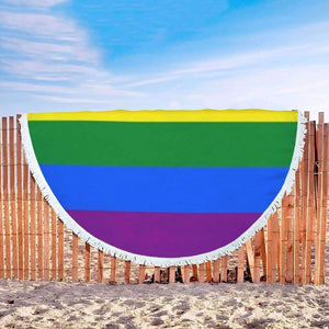 Beach Blanket - Rainbow Beach Blanket
