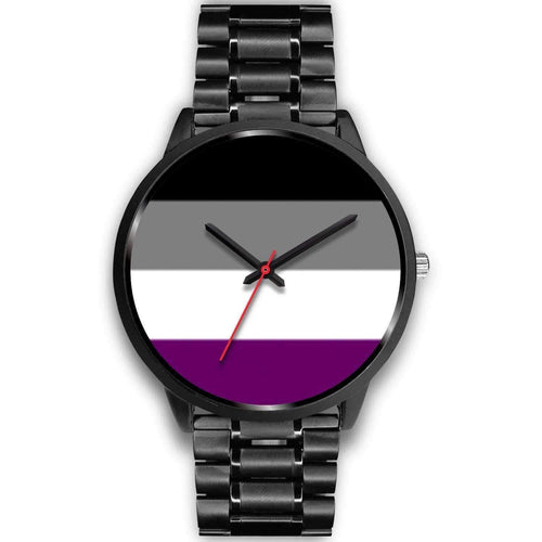 Black Watch - Asexual Pride Watch
