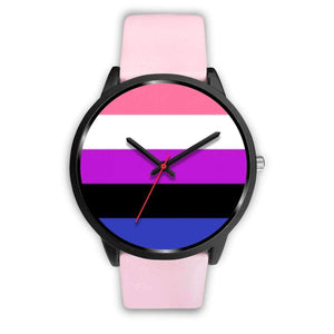 Black Watch - Gender Fluid Pride Watch