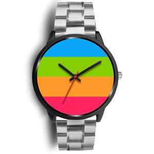 Black Watch - Panromantic Pride Watch